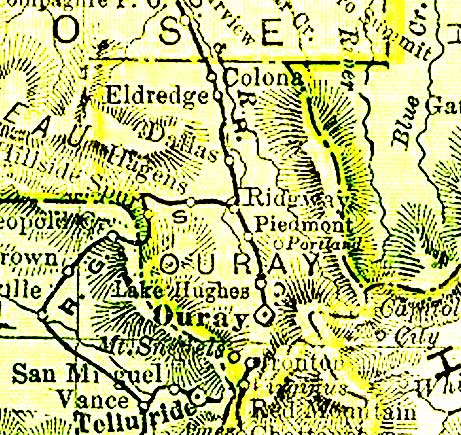 Ouray County CO GenWeb Project - Maps